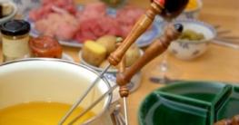 Fleischfondue-Fett-Oel
