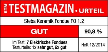 Steba Fondue-Set Ergebnis Test im Testmagazin